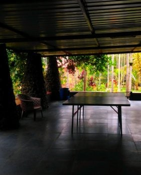 Chikmagalur homestay portico