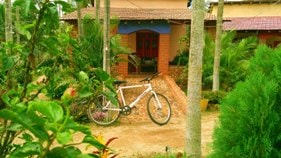 Chikmagalur resort with mountain bike
